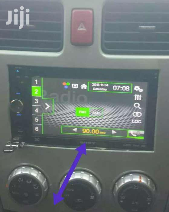 Subaru Car Radio