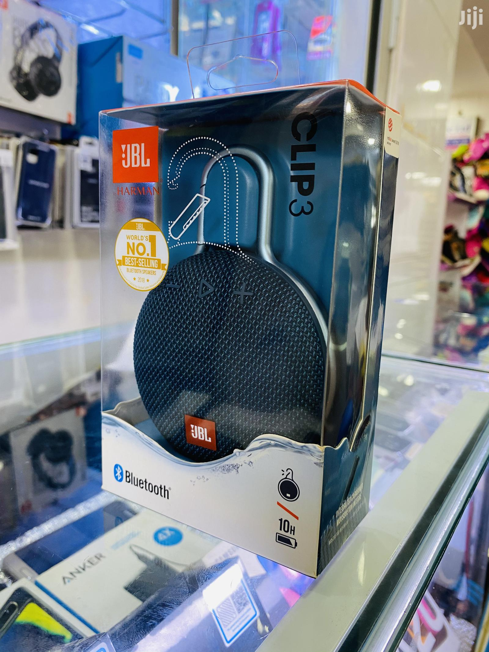 Jbl Clip3 Portable Bluetooth Speaker | Audio & Music Equipment for sale in Kampala, Central Region, Uganda