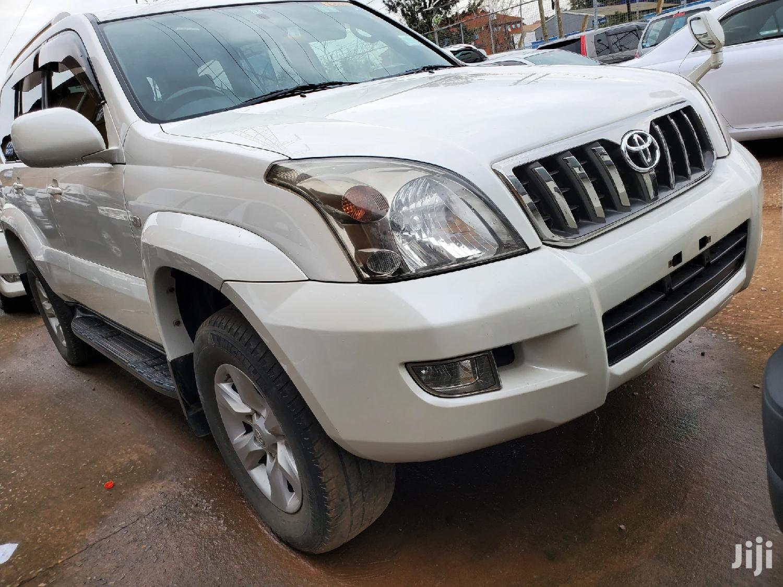 Toyota Land Cruiser Prado 2007 White