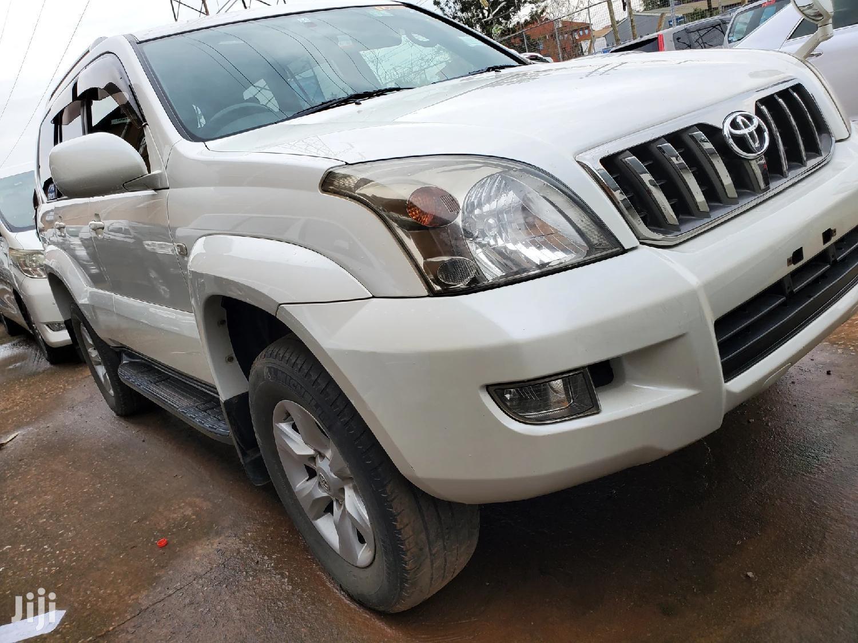 Toyota Land Cruiser Prado 2007 White | Cars for sale in Kampala, Central Region, Uganda