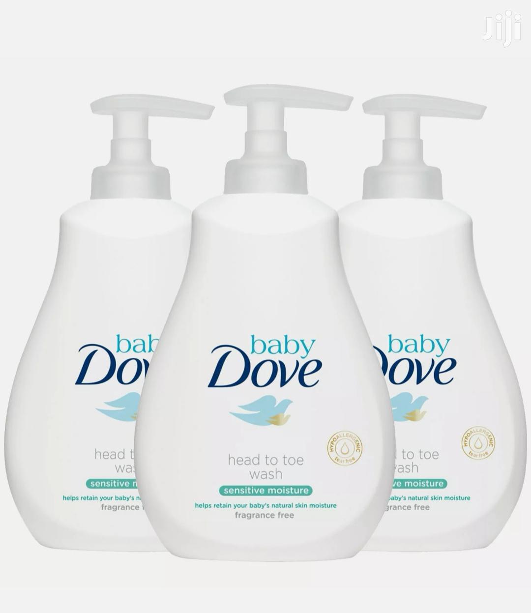 Baby Dove Head to Toe Fragrance Free Sensitive Body Wash