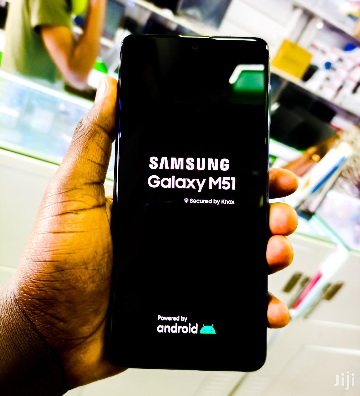 New Samsung Galaxy M51 Black