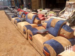 Blue Brown Sofas   Furniture for sale in Central Region, Kampala