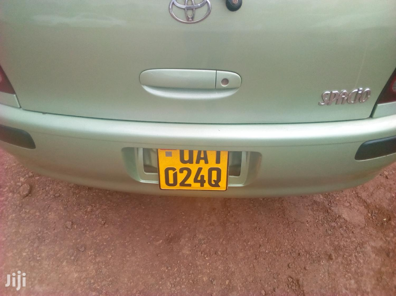 Archive: Toyota Spacio 1999 Green