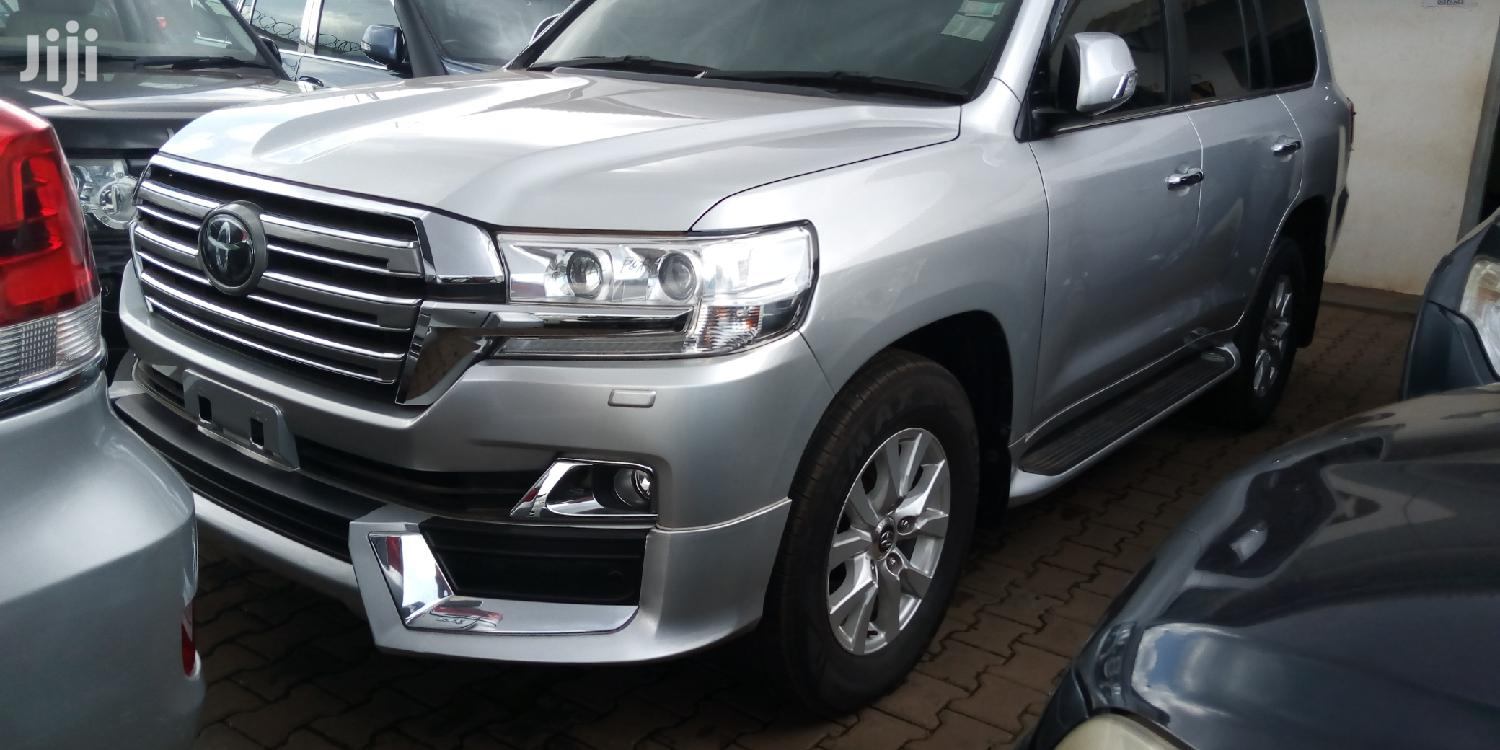 New Toyota Land Cruiser 2014 Silver