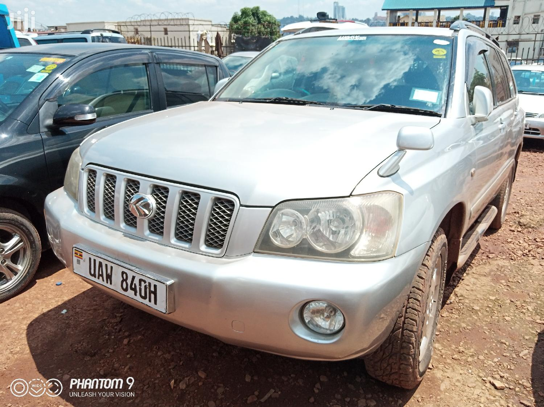 Toyota Kluger 2002 Silver | Cars for sale in Kampala, Central Region, Uganda