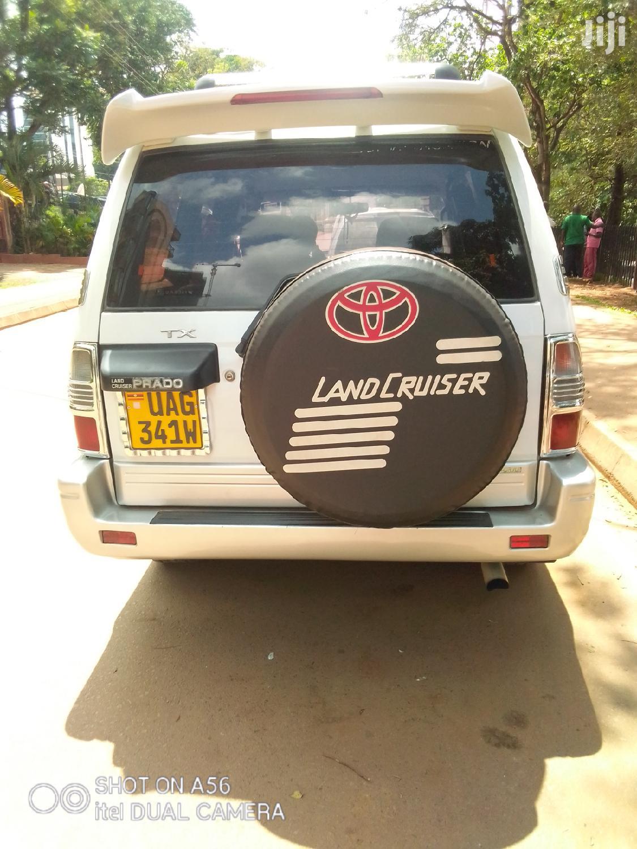 Toyota Land Cruiser Prado 1998 White | Cars for sale in Kampala, Central Region, Uganda