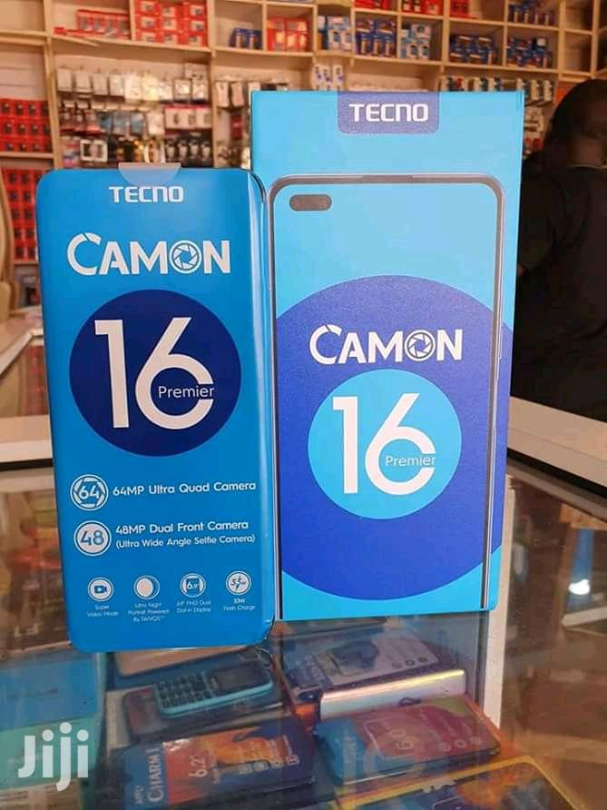 New Tecno Camon 16 Premier 128GB Black | Mobile Phones for sale in Kampala, Central Region, Uganda