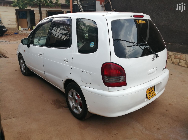 Toyota Spacio 2000 White   Cars for sale in Kampala, Central Region, Uganda