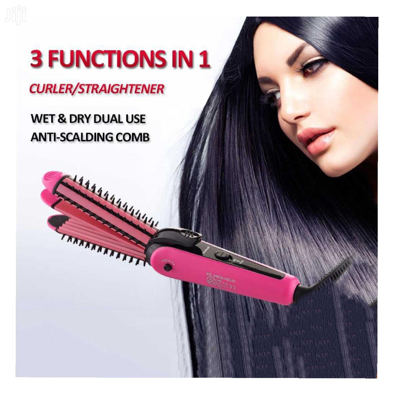 3 In 1 Hair Straighener