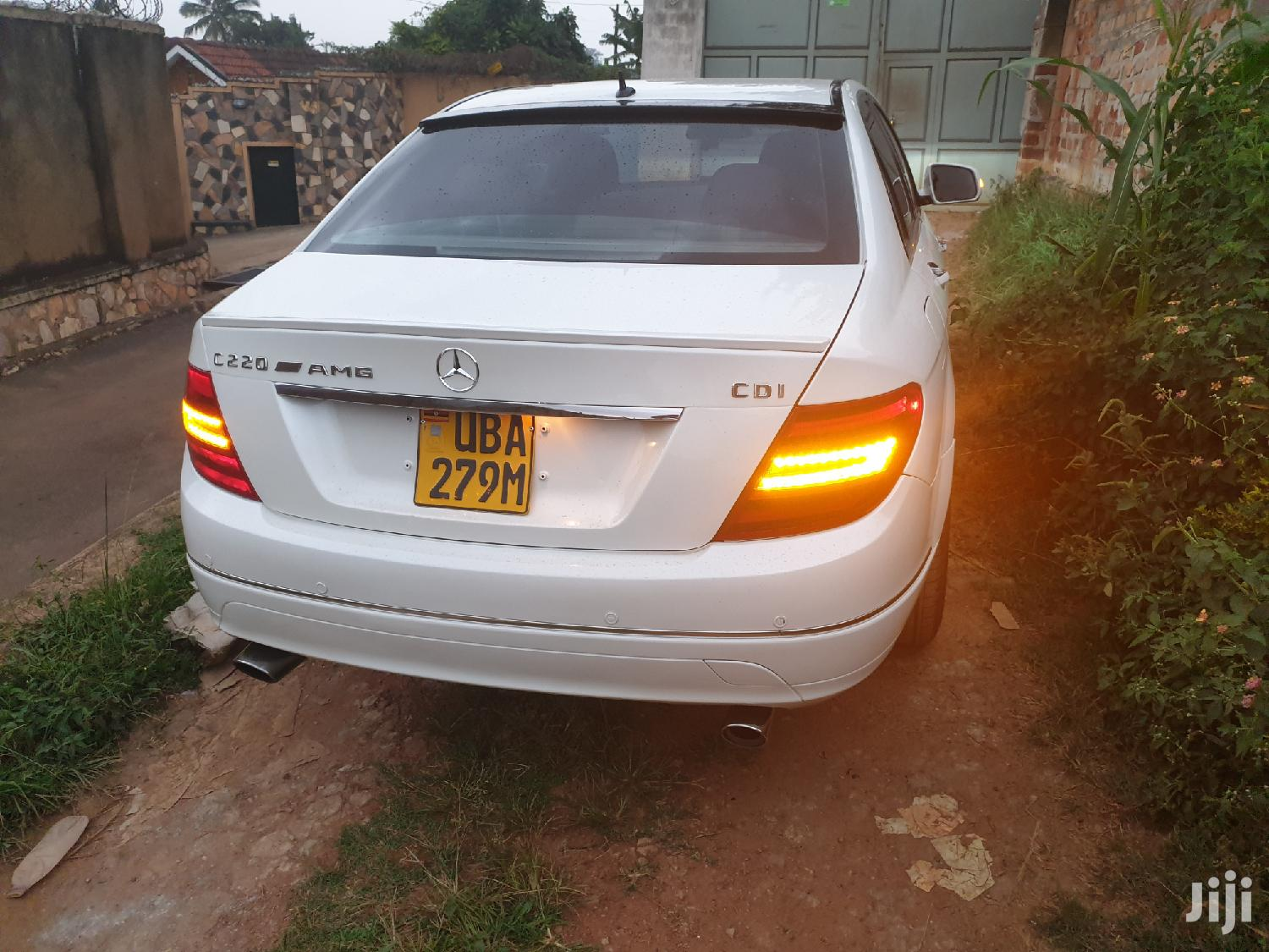 Mercedes-Benz C220 2007 White | Cars for sale in Kampala, Central Region, Uganda