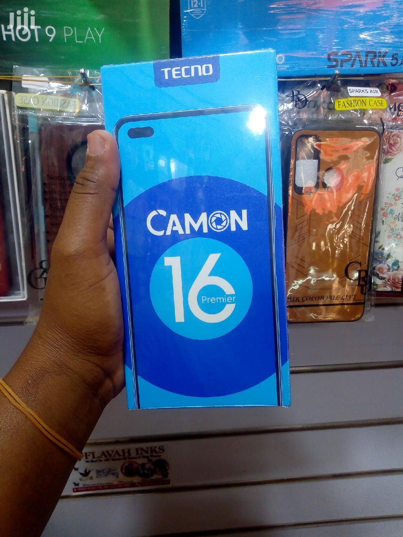 Archive: New Tecno Camon 16 Premier 128GB Blue