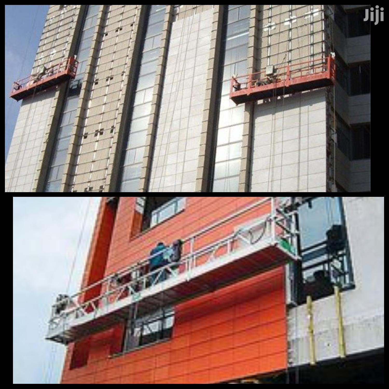 Skyscraper Lift(Cleaning,Painting And Repair Duties)