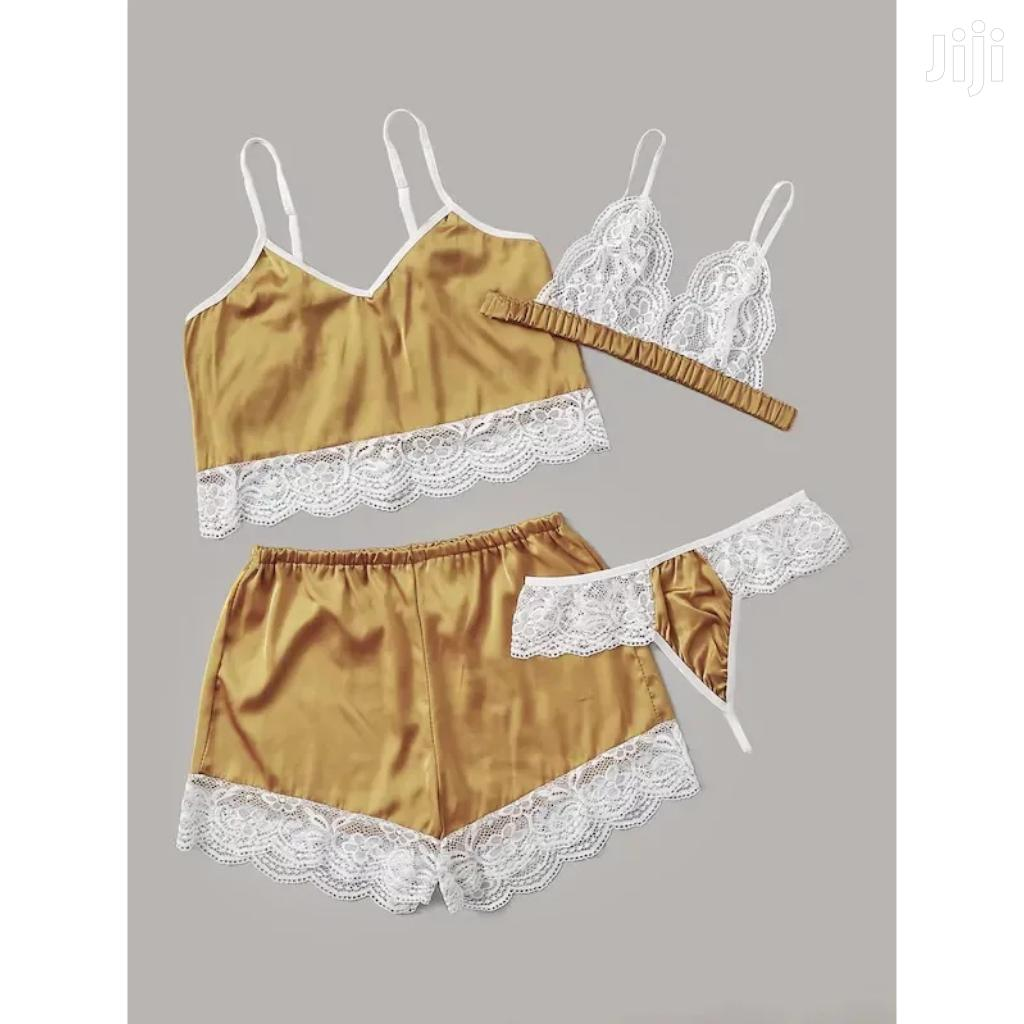 4 Pcs Ladies Lingerie Sexy Pajamas Set. | Clothing for sale in Kampala, Central Region, Uganda