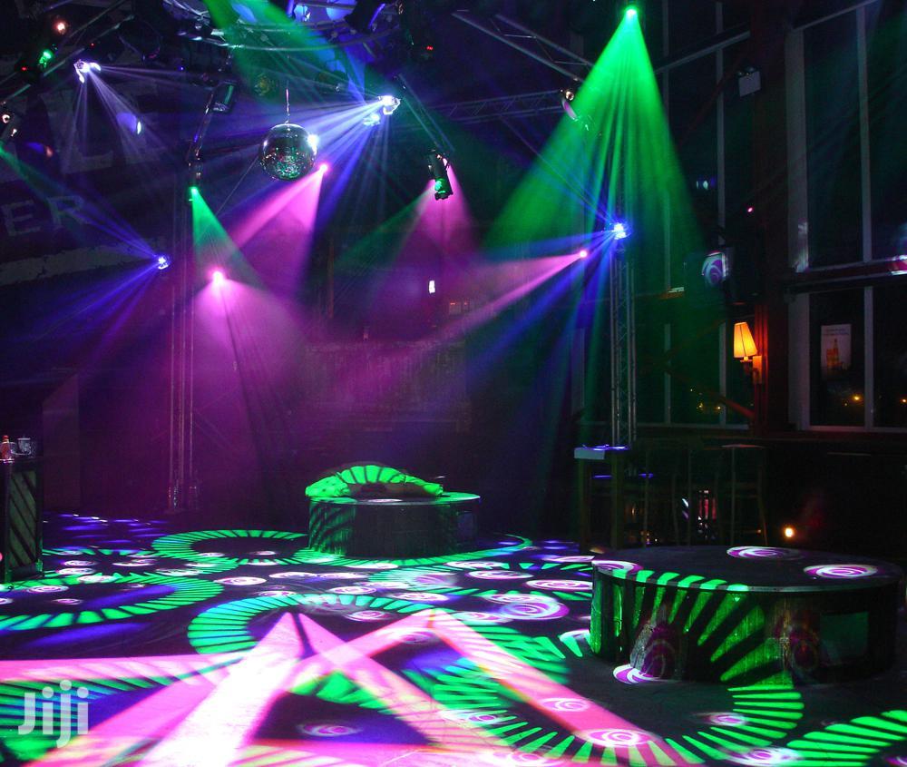 Martin Mania Club Bar And Events Lights