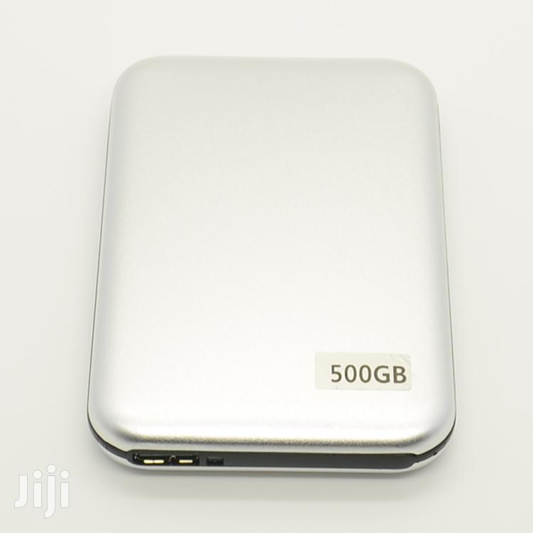 Archive: 500GB External Hard Drive