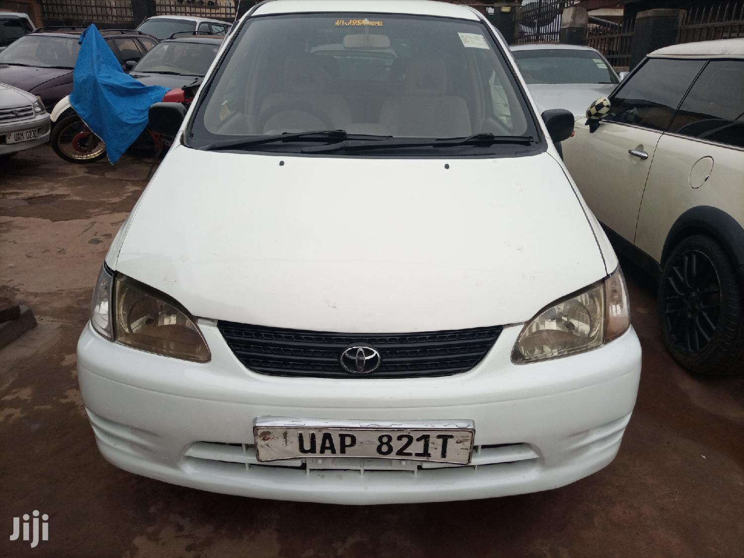 Toyota Spacio 2000 White | Cars for sale in Kampala, Central Region, Uganda