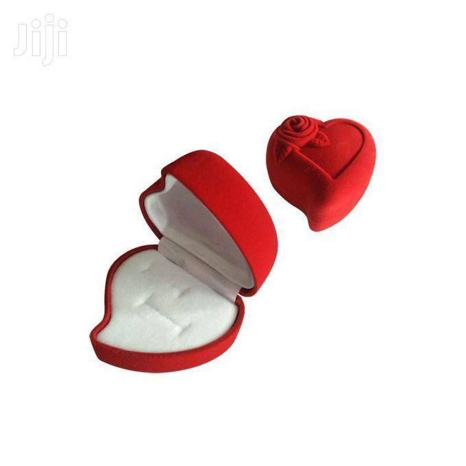 Heart Shaped Engagement Ring Box Without The Ring