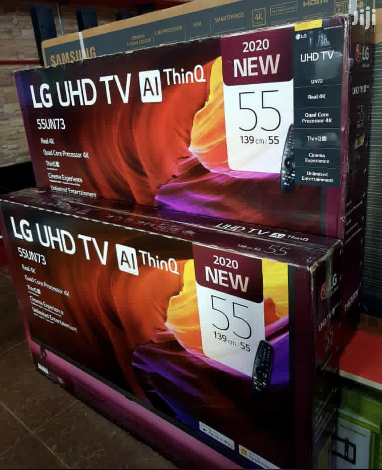 Brand New LG Smart UHD 4K Tv 55 Inches