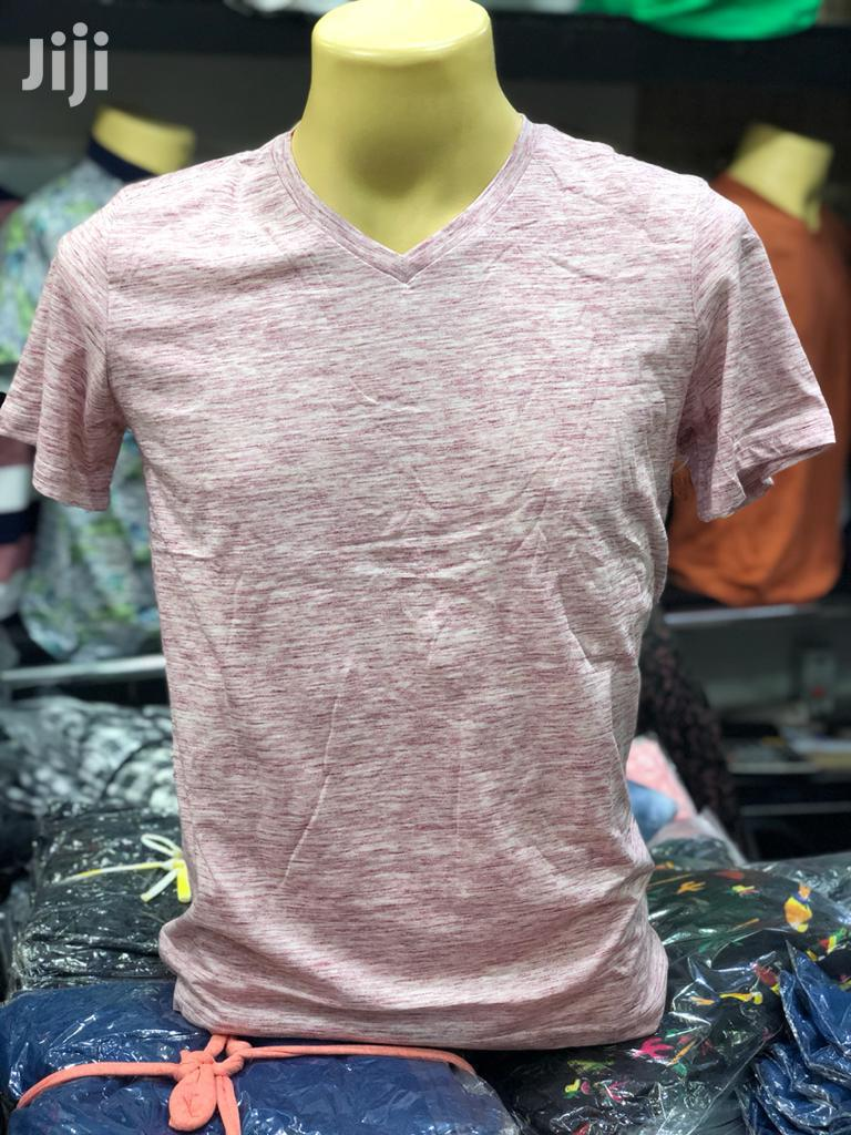 100% Cotton V-Necked T-Shirts | Clothing for sale in Kampala, Central Region, Uganda