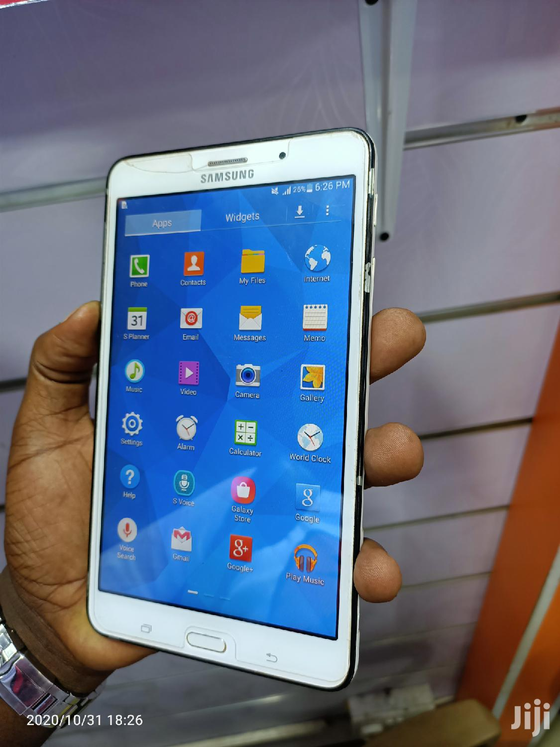 Samsung Galaxy Tab 4 7.0 8 GB White | Tablets for sale in Kampala, Central Region, Uganda