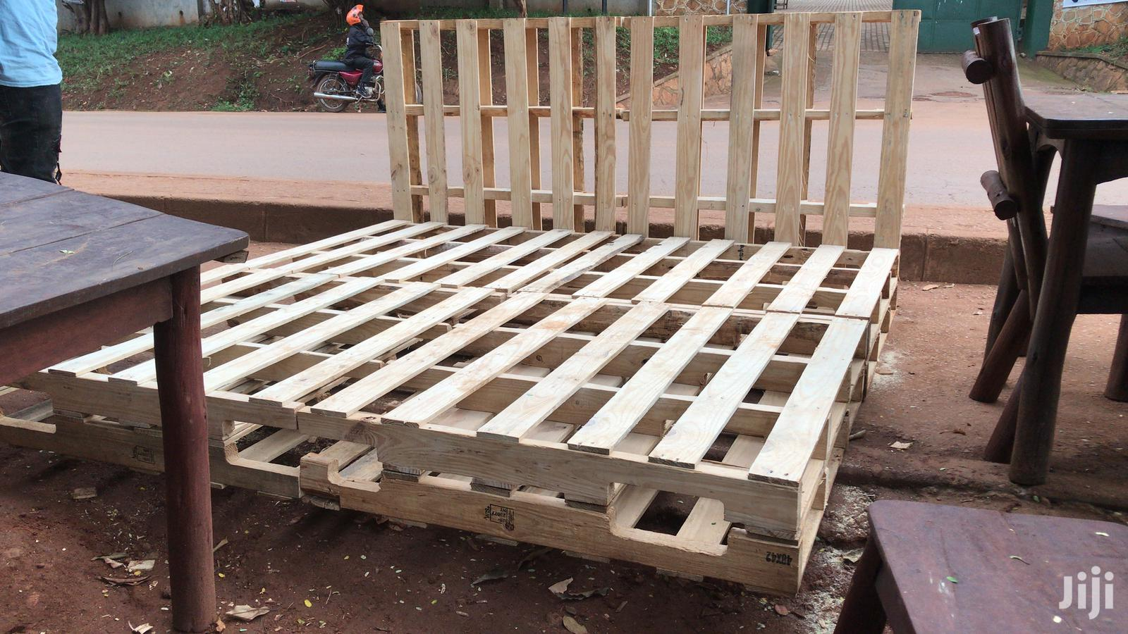 Pallet Bed King Size In Kampala Furniture Arafat Furniture Workshop Jiji Ug