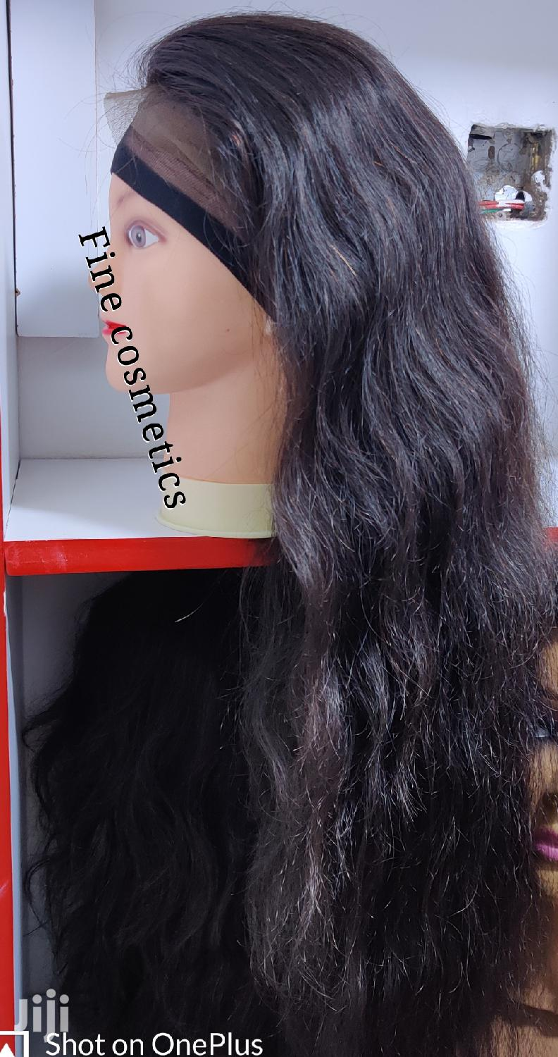Original 360 Body Wave Lace Wig Size 30 100% Human Hair. | Hair Beauty for sale in Kampala, Central Region, Uganda