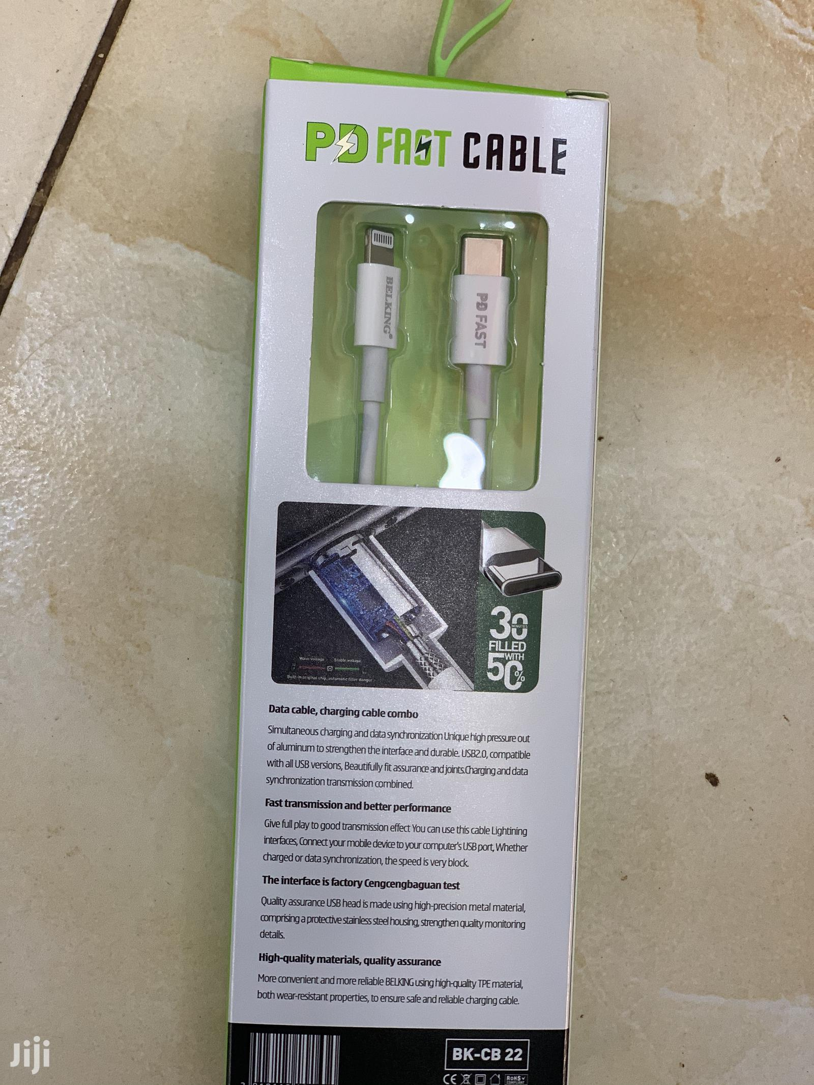 iPhone11promax Cable | Accessories for Mobile Phones & Tablets for sale in Kampala, Central Region, Uganda