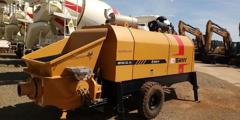 Concrete Pump Of Upto 185mtrs