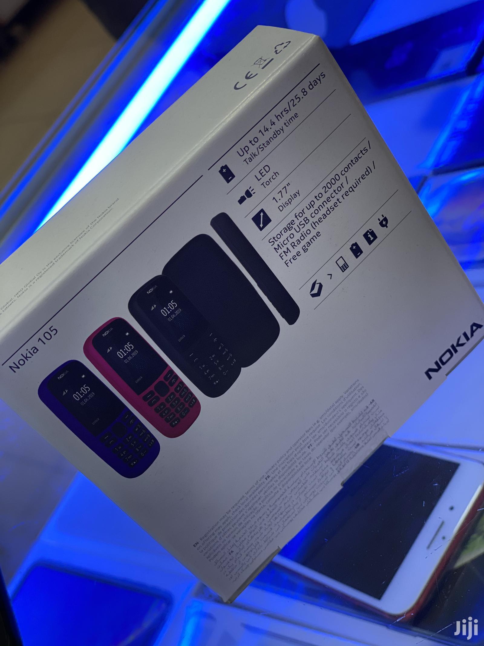 New Nokia 105 Black   Mobile Phones for sale in Kampala, Central Region, Uganda