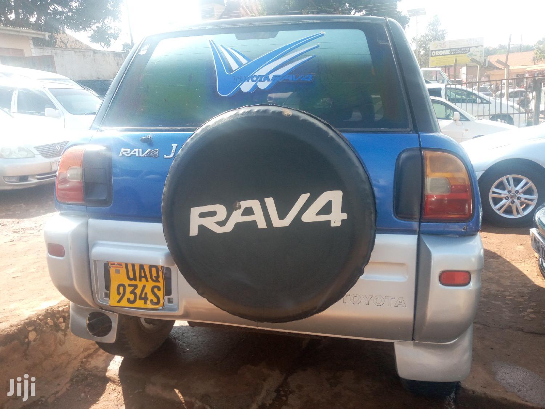 Archive: Toyota RAV4 1999 Blue