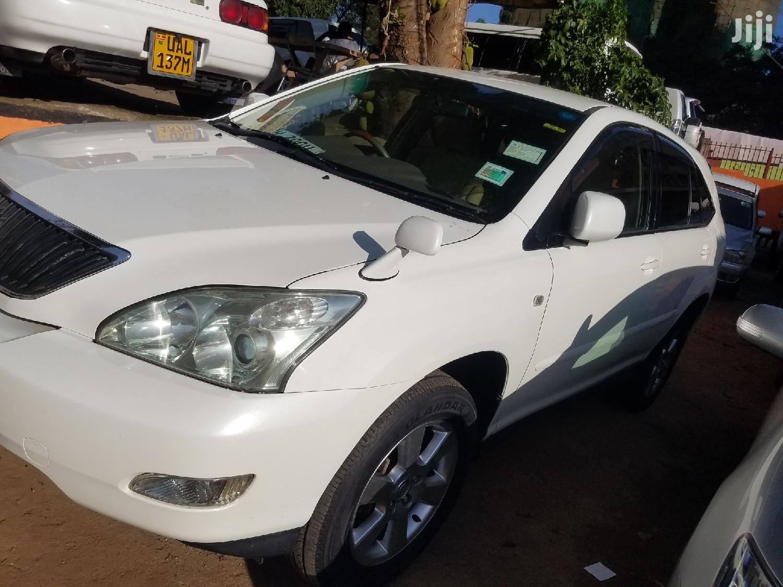 Toyota Harrier 2007 White   Cars for sale in Kampala, Central Region, Uganda