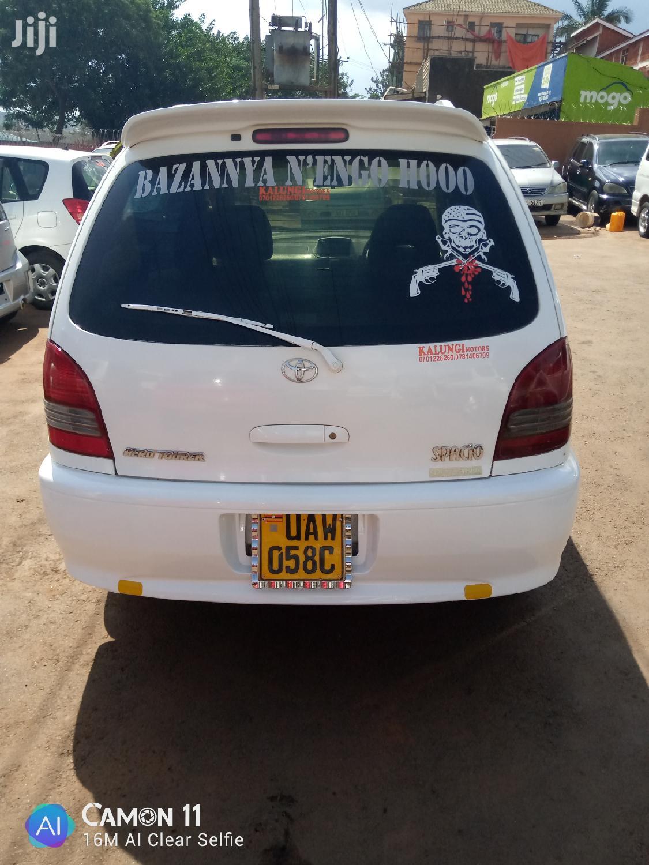Toyota Spacio 1998 White | Cars for sale in Kampala, Central Region, Uganda