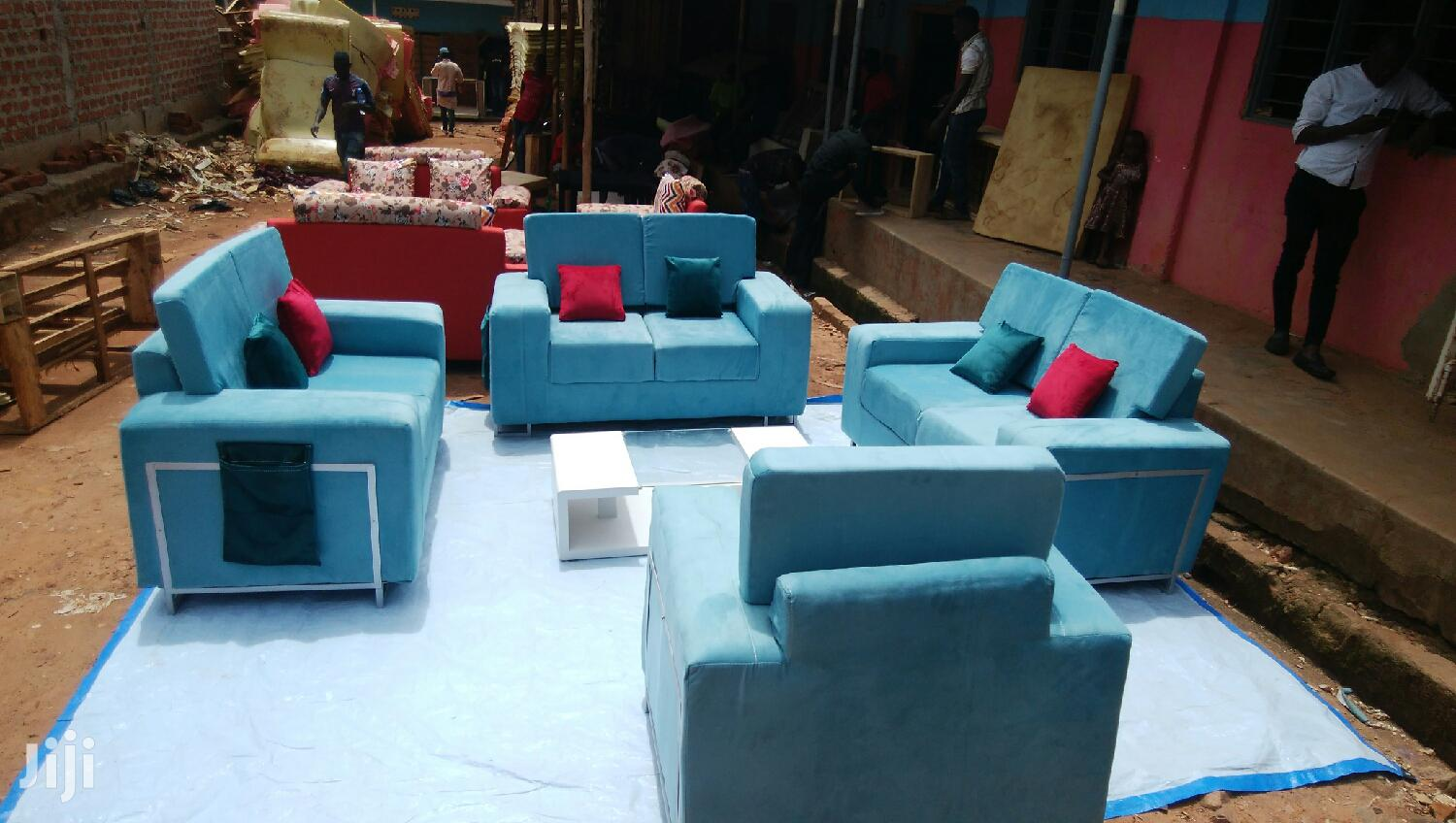 Sofas Blue | Furniture for sale in Kampala, Central Region, Uganda