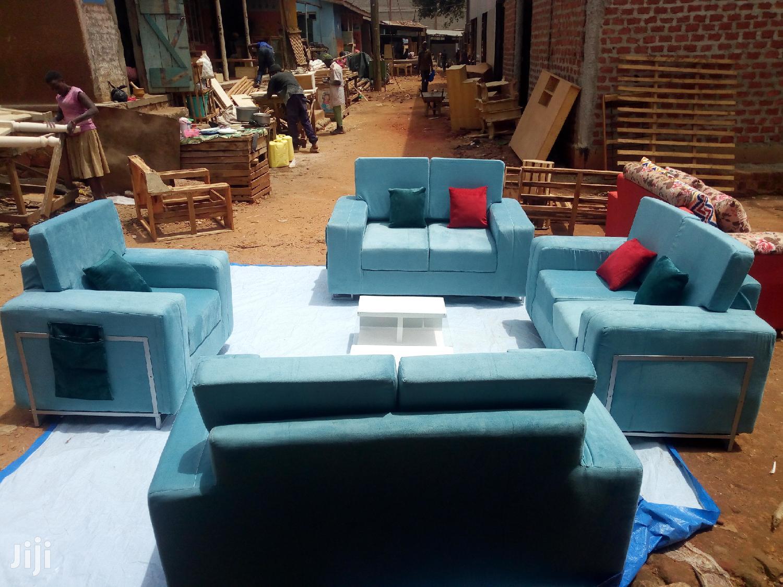 Sofas Blue | Furniture for sale in Kampala, Central Region, Uganda