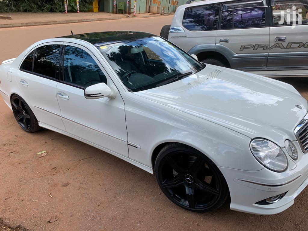 Mercedes-Benz E350 2007 White