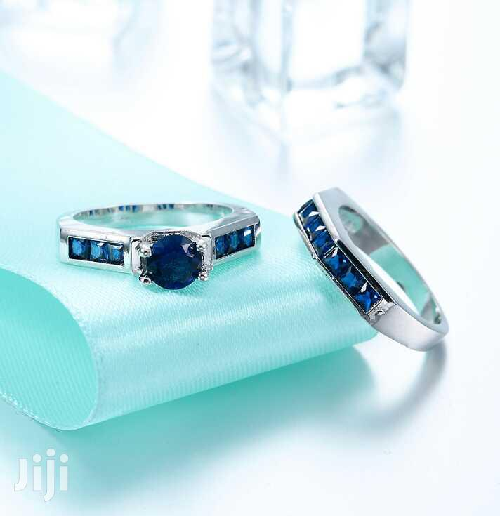 Archive: Blue Diamond Engagement Ring