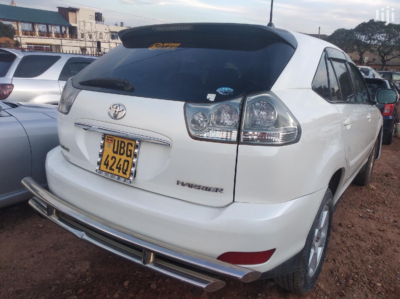 New Toyota Harrier 2007 White | Cars for sale in Kampala, Central Region, Uganda