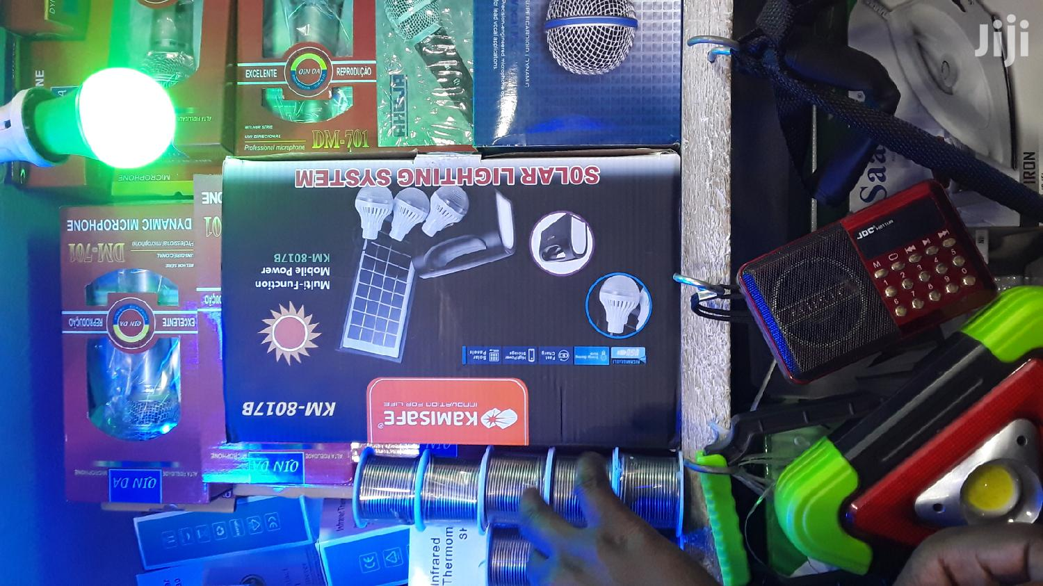 Full Kit Portable Solar System | Accessories & Supplies for Electronics for sale in Kampala, Central Region, Uganda