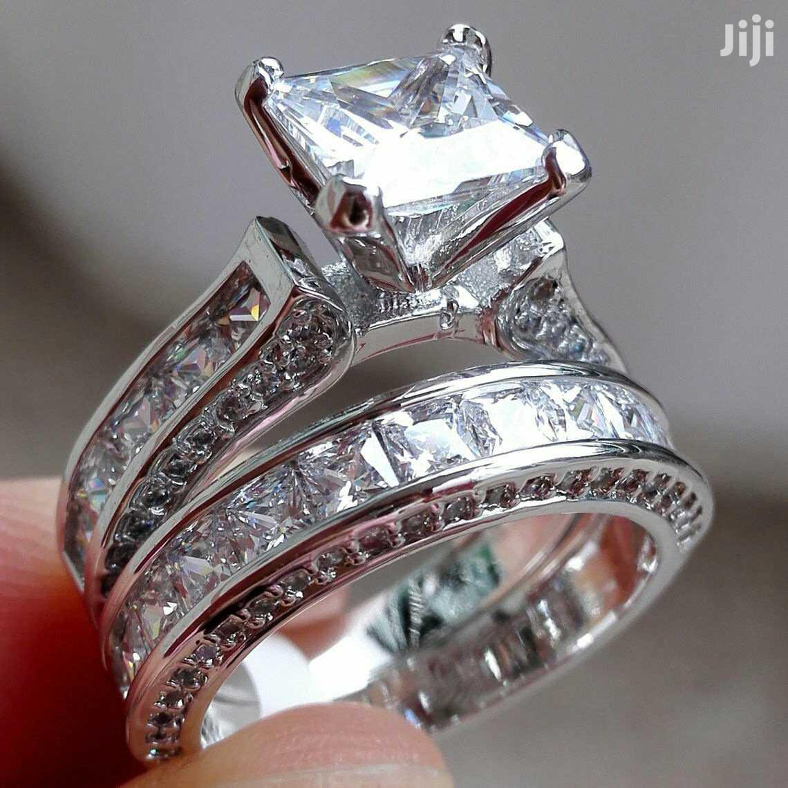 Silver Diamond Engagement Rings | Wedding Wear & Accessories for sale in Kampala, Central Region, Uganda