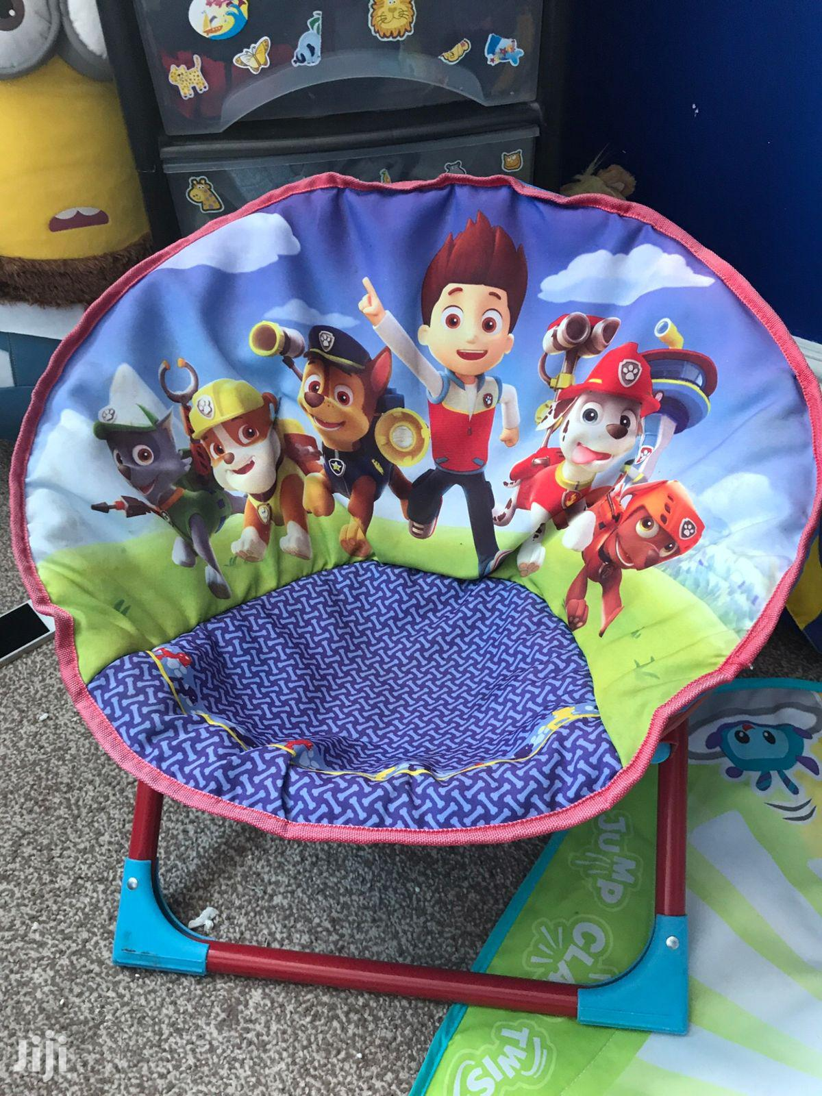 Kids Foldable Cartoon Chairs