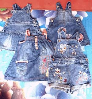 Jean Jumpsuits Dresses and Body Suits | Children's Clothing for sale in Central Region, Kampala