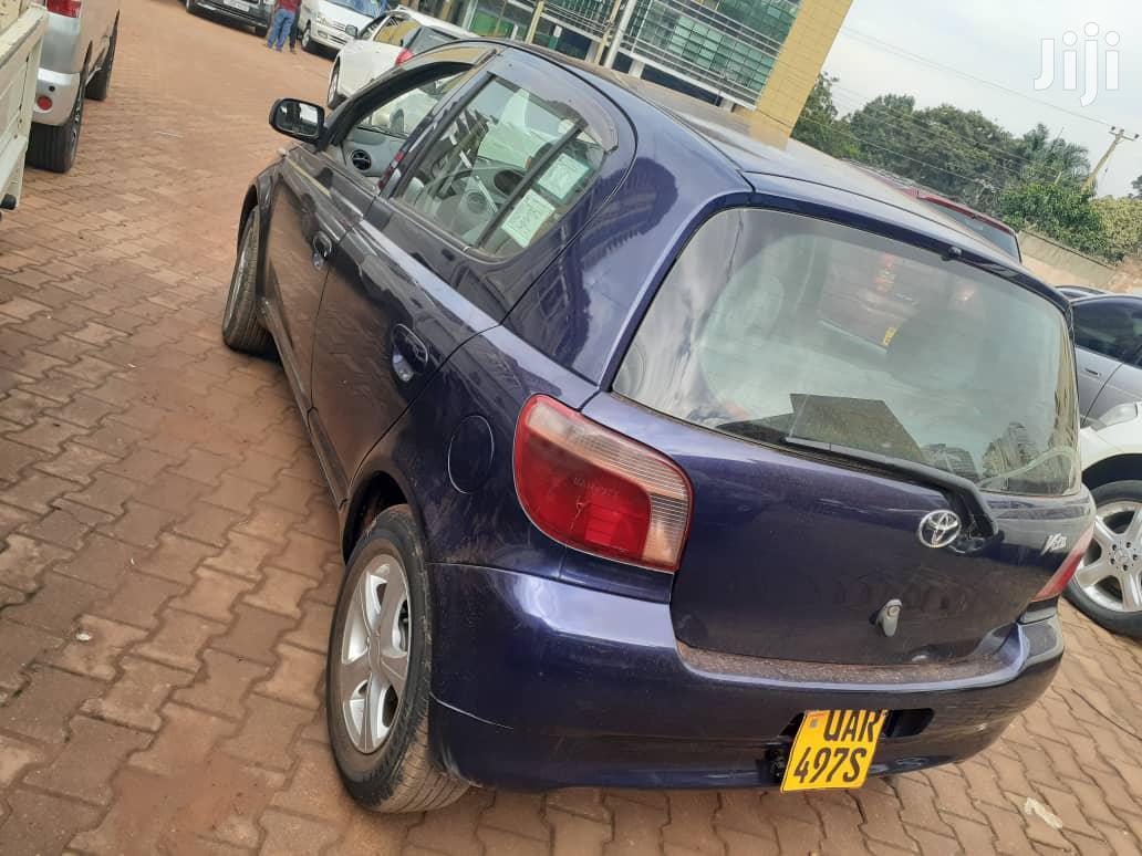 Archive: Toyota Vitz 1998 Blue