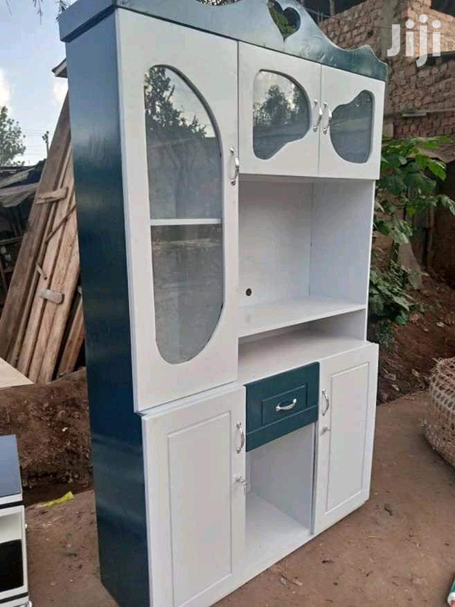 Cupboard in Black With Tiv Gup