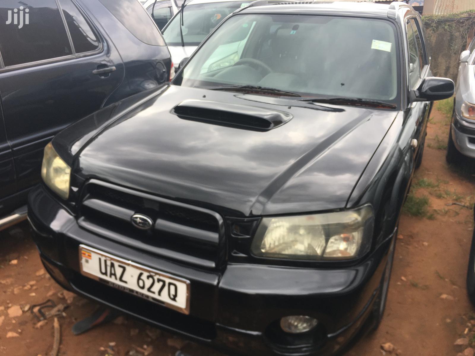 Subaru Forester 2003 Black