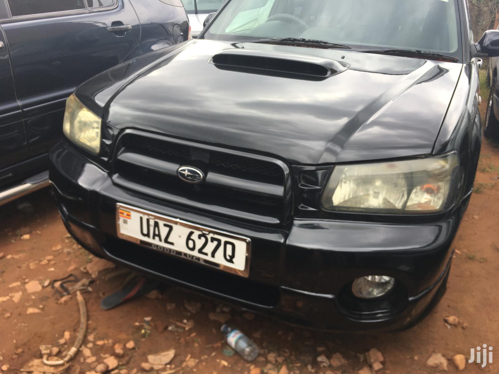 Subaru Forester 2003 Black | Cars for sale in Kampala, Central Region, Uganda