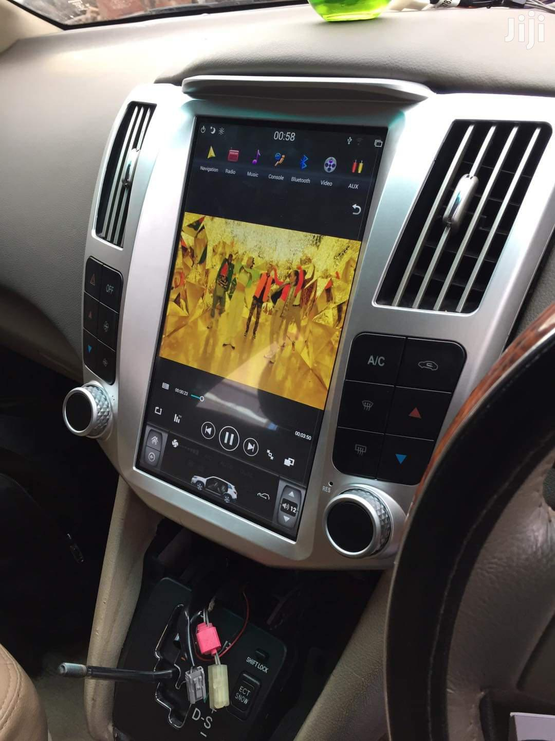 Harrier Kawundo Car Radio Android Tesla | Vehicle Parts & Accessories for sale in Kampala, Central Region, Uganda
