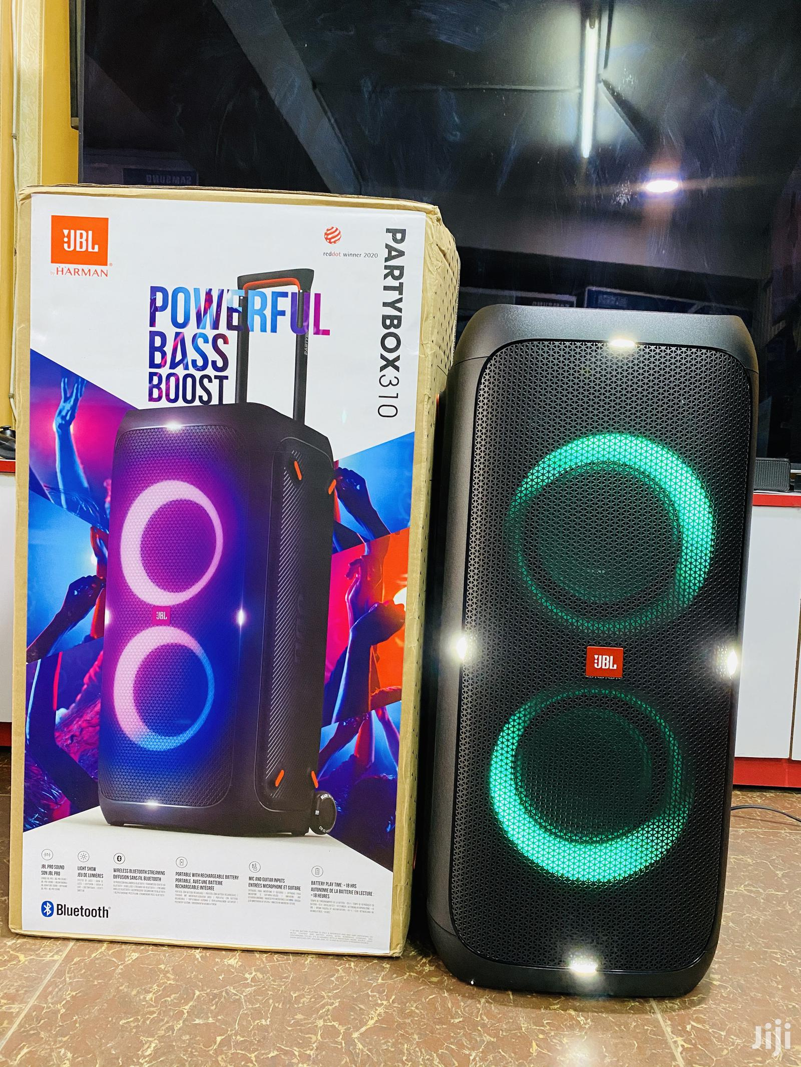 Jbl Part Box 310 Bluetooth Speakers Available Now