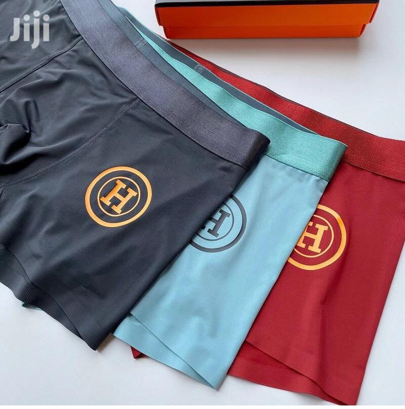 Three Pieces of Hermes of Mens Boxers