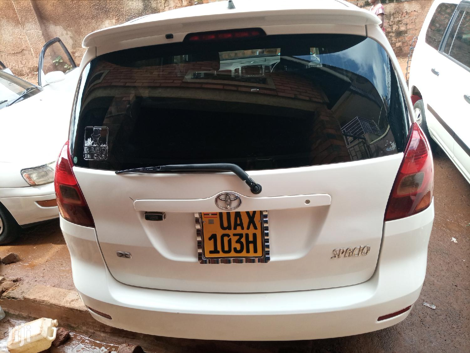 Toyota Spacio 2003 White | Cars for sale in Kampala, Central Region, Uganda